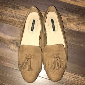 Forever 21: Brown Suede Loafers